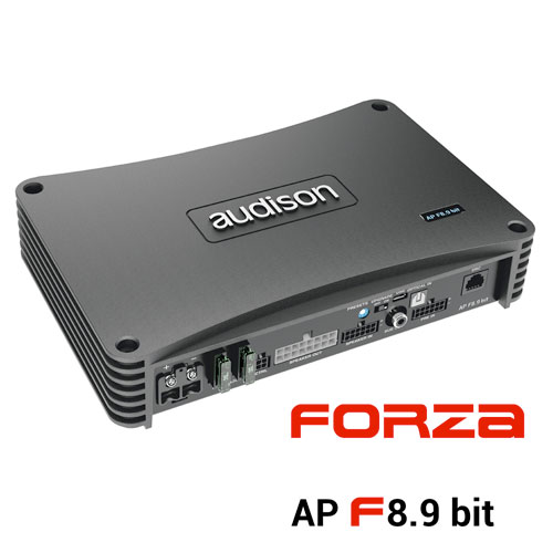 AP F8.9 bit 8 CH AMPLIFIER WITH 9 CH DSP