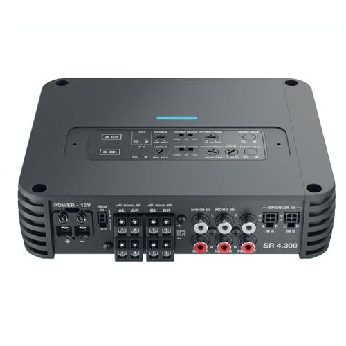 Audison SR 4.300 4 Channel High Power Compact Speaker Amplifier Amp 4x 300w RMS
