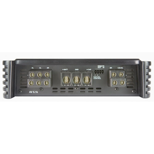 Audison - AV 5.1k 1650 W POWER AMPLIFIER