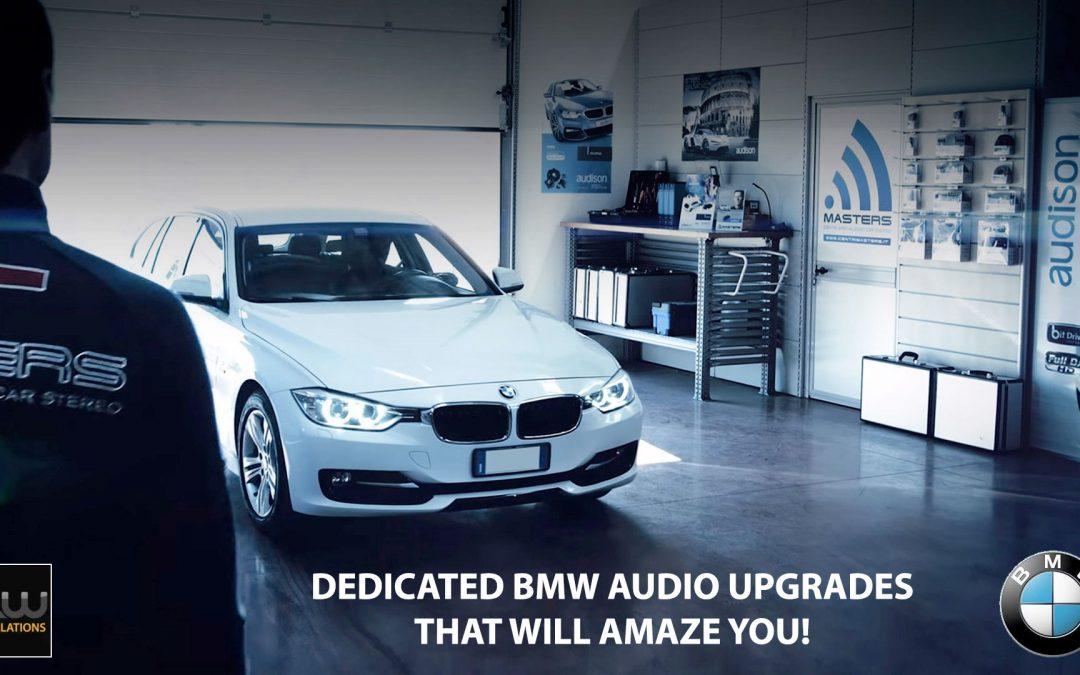 Audison BMW Audio Upgrades