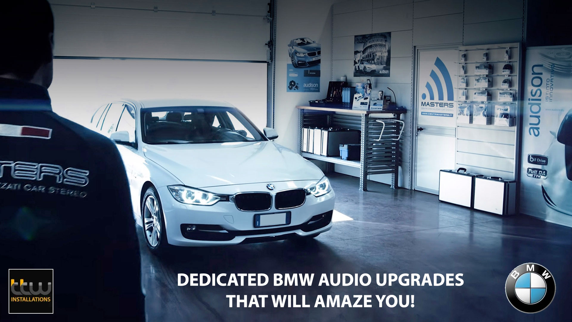 Audison BMW - MINI - Car Audio Upgrades - OEM Solutions - TTW