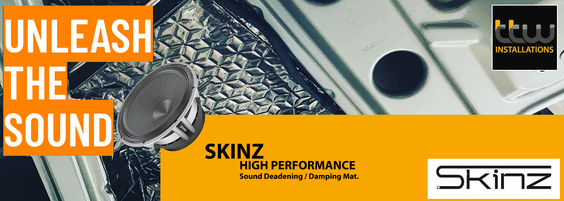 Audison Car Audio Specialists - TTW -  Audison professional Installations - Skinz Sound Proofing