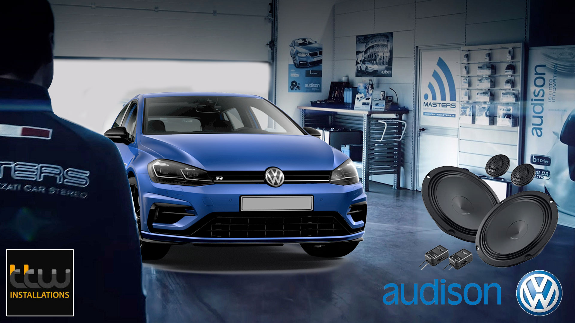 VW Audison Car Audio Upgrades