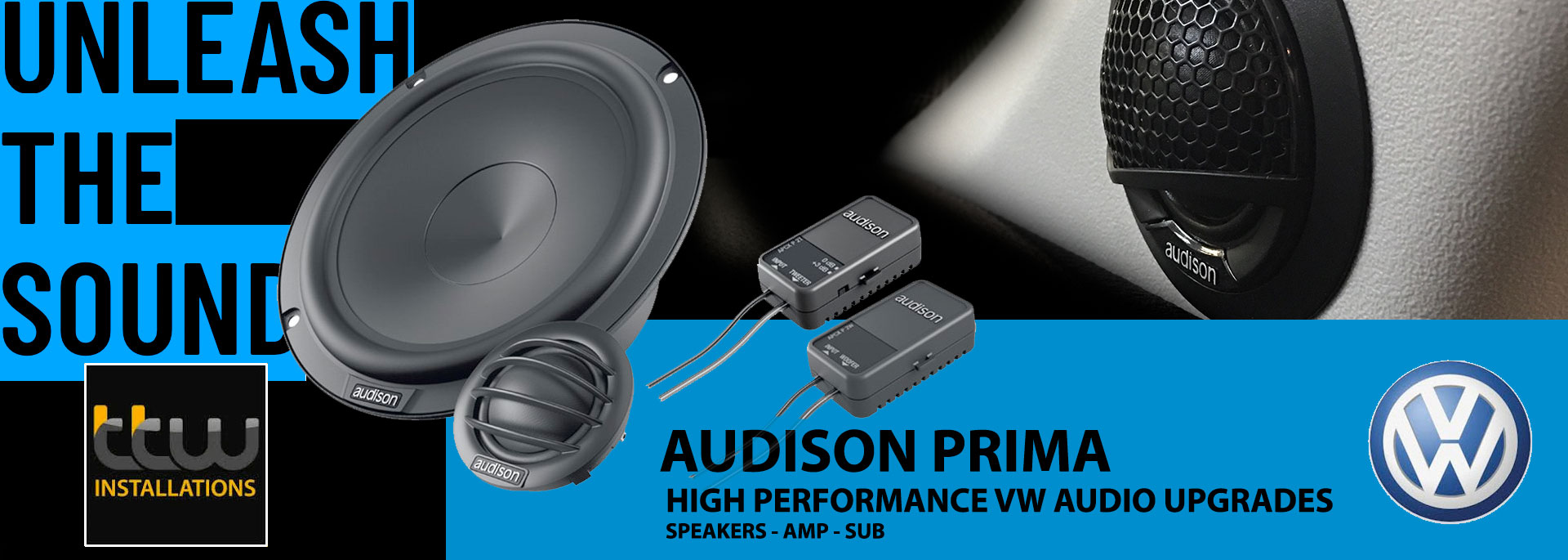 Audison VW Car Audio Upgrades - TTW - Nottingham - Midlands - Derby - Leicester - Birmingham