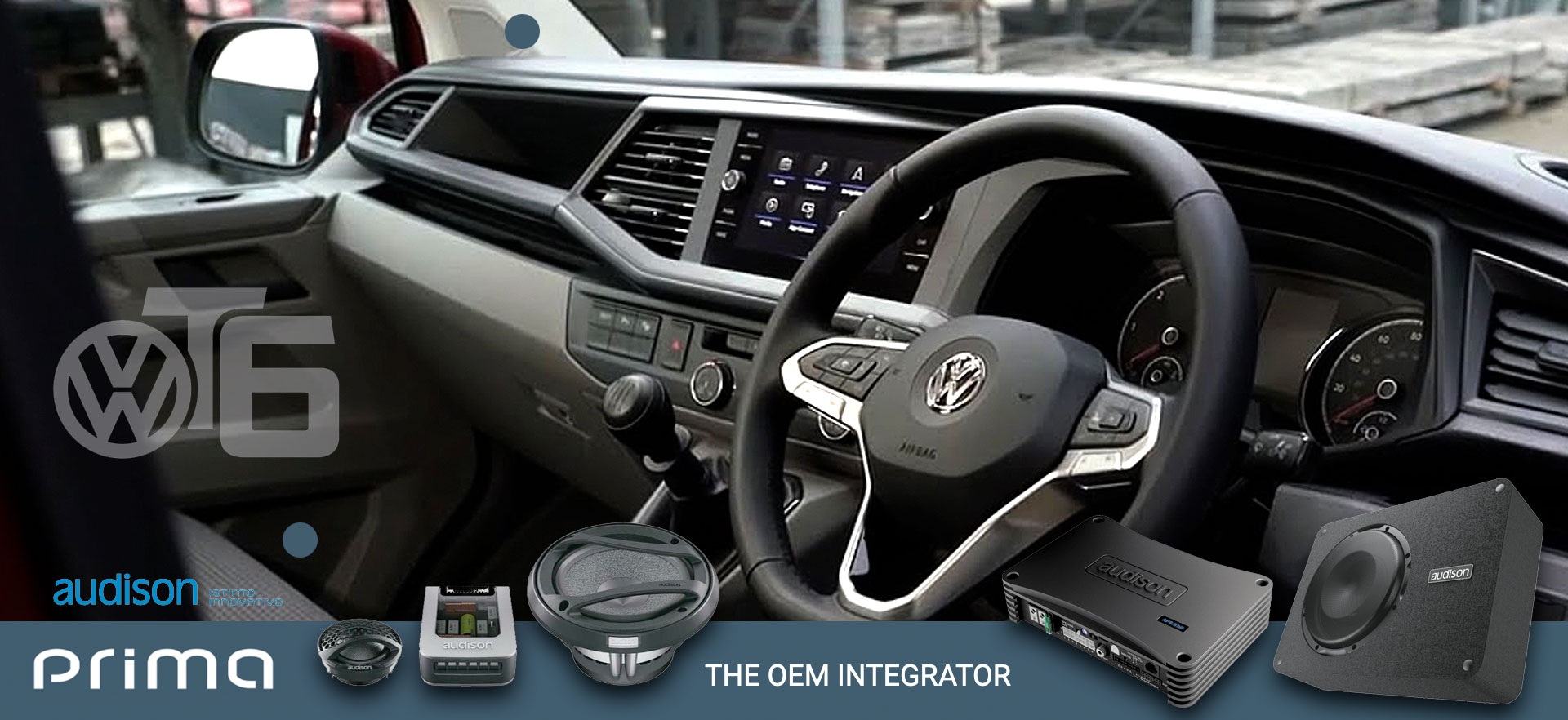 Drive A VW Transporter? Need A Audio Upgrade? Then Give Us A Call - VW Audison Specialists - TTW