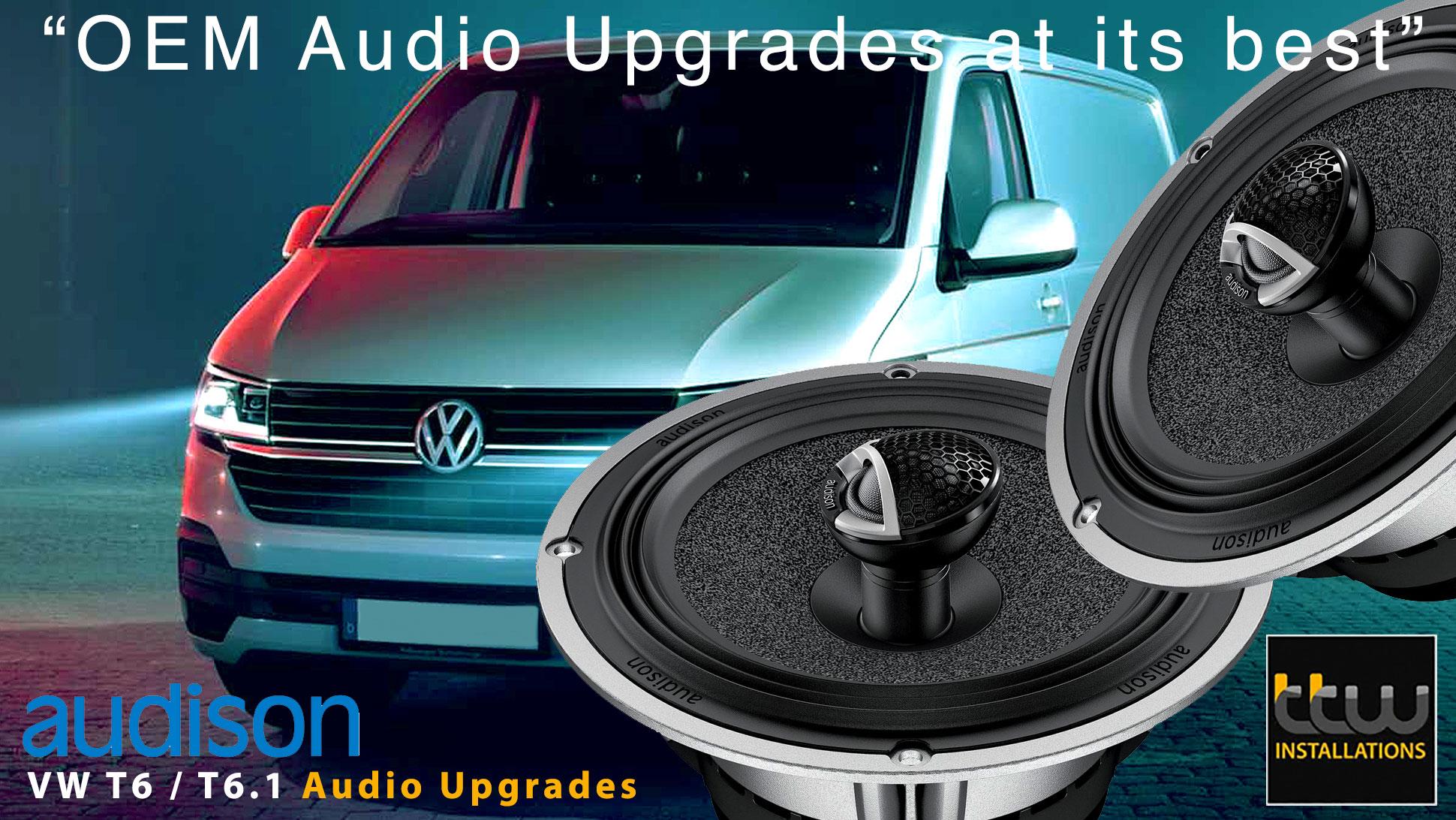 VW T6 Transporter Audio Specialists - Audison - TTW - Nottingham - UK