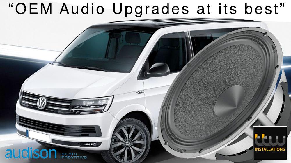 VW Transporter Audio Upgrades
